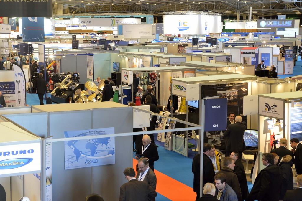 EUROMARITIME, le salon europeen de l'economie de la mer et du fluvial, 2015 à Paris